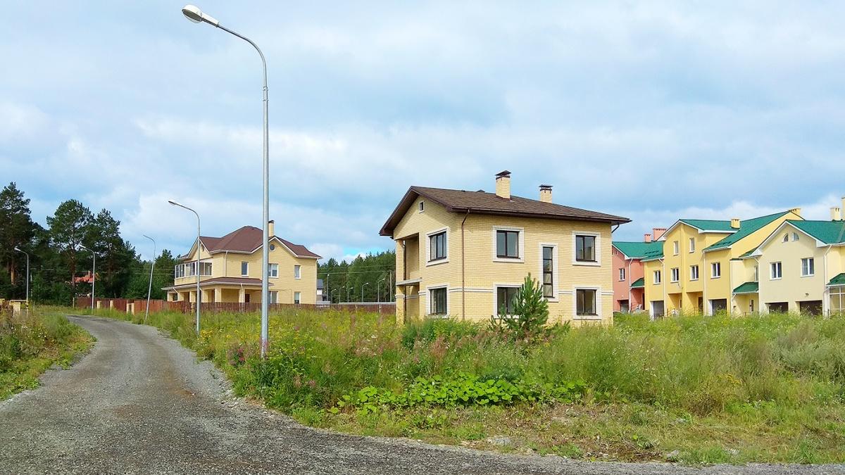 Вид на готовую очередь поселка