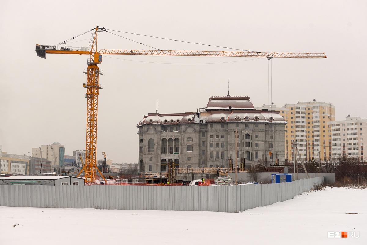 Будущий гастрольный театр под боком у УГМК