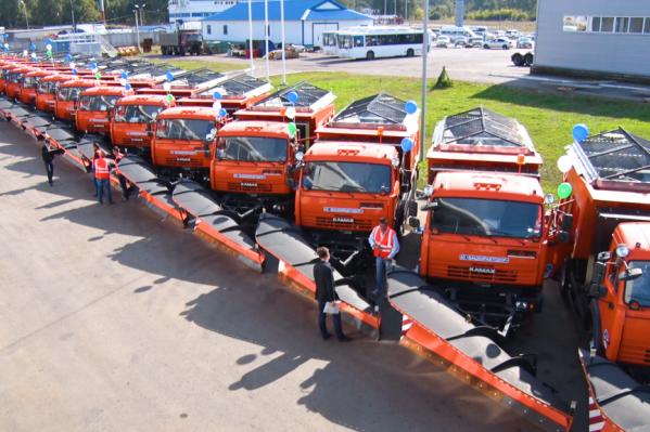 Новенькие машины передали в ведение «Башкиравтодора»