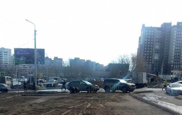 В Уфе завершили замену трубопровода на одной из крупных улиц