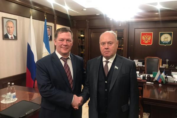 Сергей Колесников (слева) считает, что нет ничего страшного в ошибках— главное, чтобы был результат