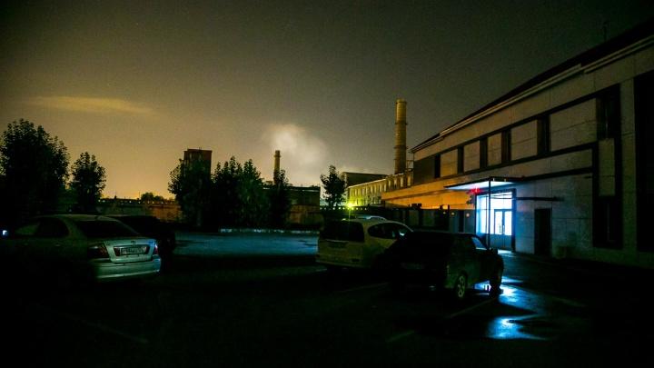 Ночью в Красноярске наблюдали опасное загрязнение воздуха