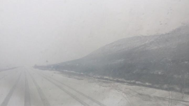 Гидрометцентр: в Волгоградской области ожидаются ливни с мокрым снегом и сильный ветер
