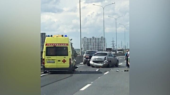 Водитель Nissan, спровоцировавший аварию на объездной, скрылся с места ДТП