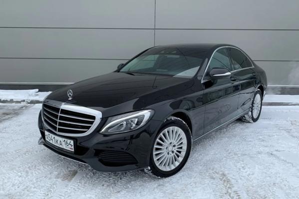 Mercedes-Benz C-класса 2014 года<br>