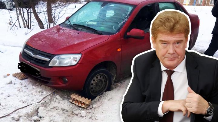Временный мэр Челябинска проигнорировал разнос губернатора за сугробы на улицах