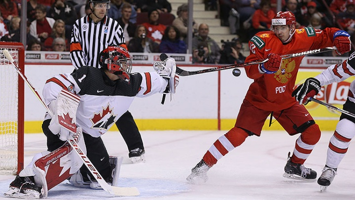 Вот это подарок! Российские хоккеисты обыграли канадцев у них на родине