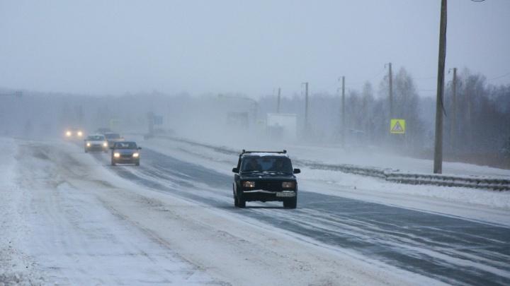 ПДД для бывалых: как ездить, когда разметка исчезла под снегом