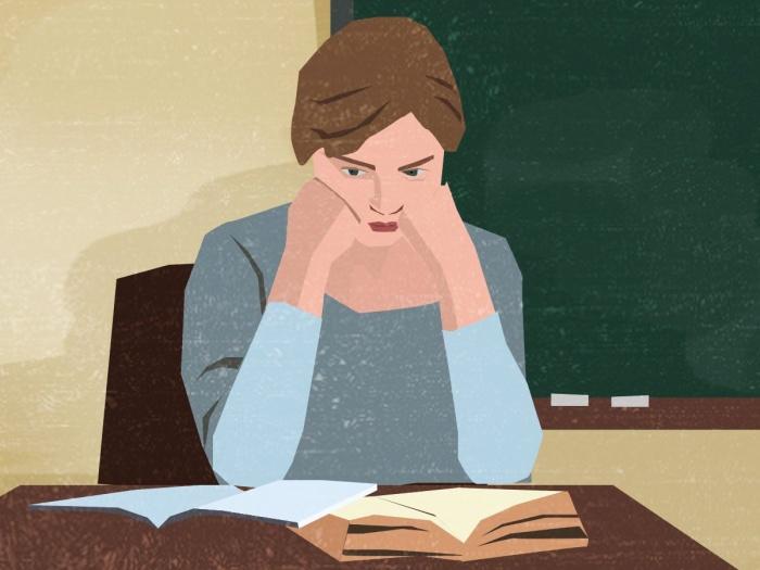 Родители постоянно сомневались в объективности педагога, полагая, что она занижает оценки их детям