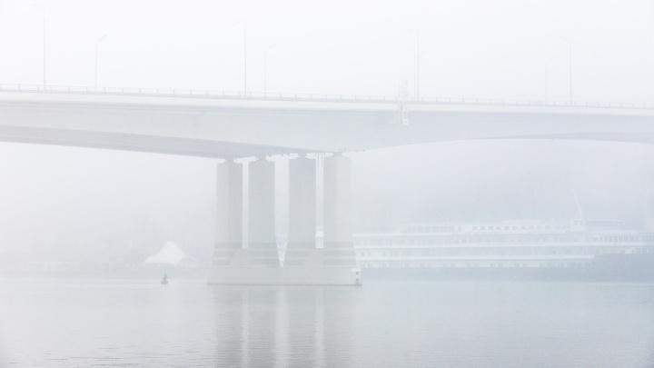 Туманный Ростов: 12 атмосферных кадров южной столицы