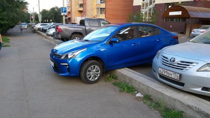 Самая странная парковка