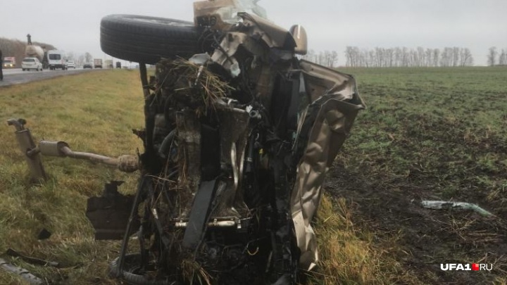 В Башкирии произошло ДТП с участием трех машин, есть пострадавшие