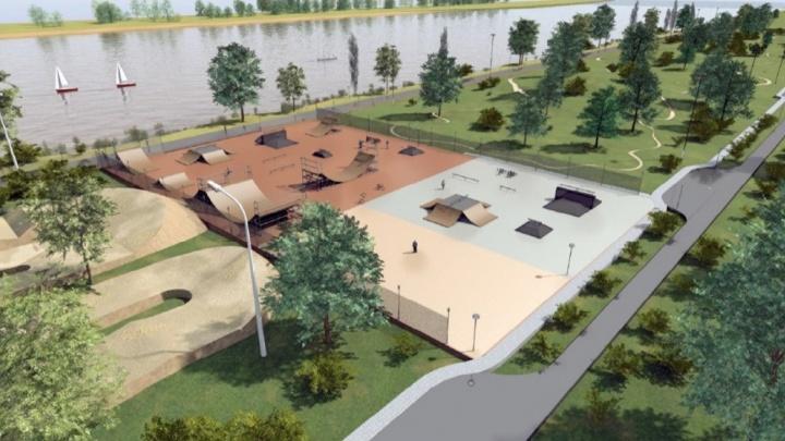 Велопарк появится в Ростове на Гребном канале