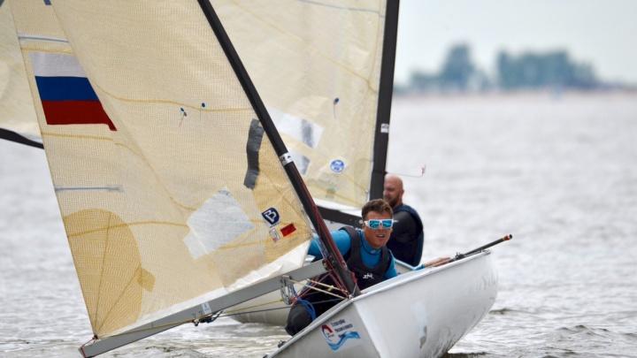Участник Олимпийских игр в Лондоне выиграл гонку по Новосибирскому водохранилищу