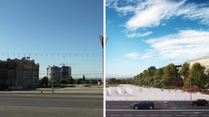 Проект реконструкции Театральной площади передадут Василию Голубеву