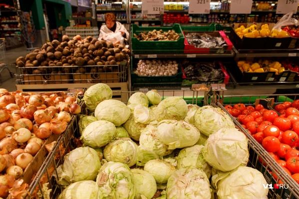 Овощи подешевели за месяц на 24%