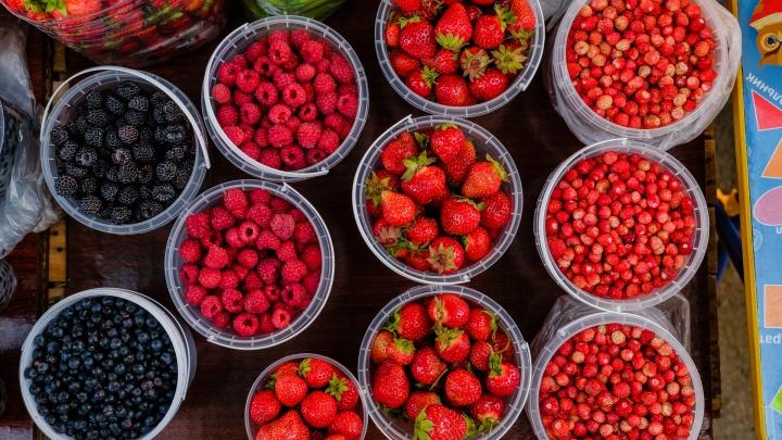 Почем огурцы, щавель и ягодки на бабушкиных рынках? Обзор 59.RU