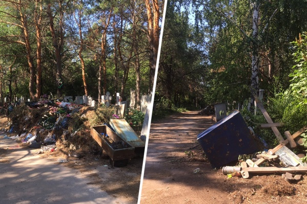 Посетители кладбища считают, что такое отношение к умершим — кощунство