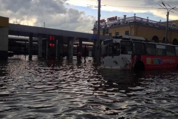 В былые времена на Ярославле-Главном уже бывали потопы
