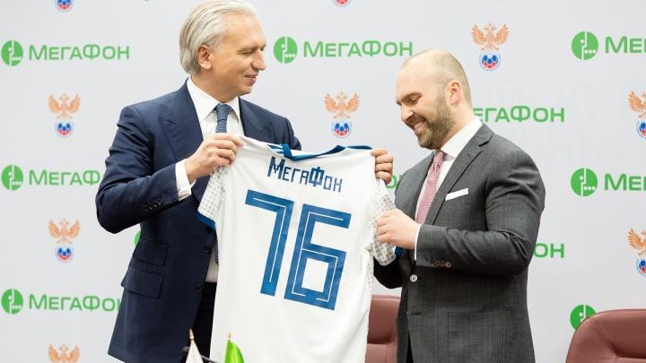 Спорт доступен каждому: МегаФон примет активное участие в развитии российского футбола