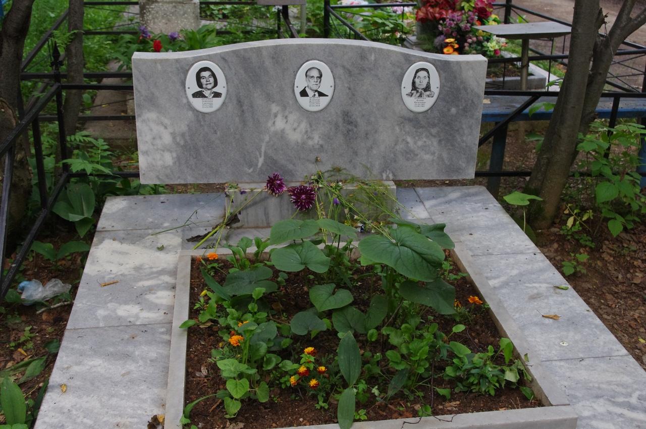 Художник Владимир Бушуев похоронен вместе с родственниками