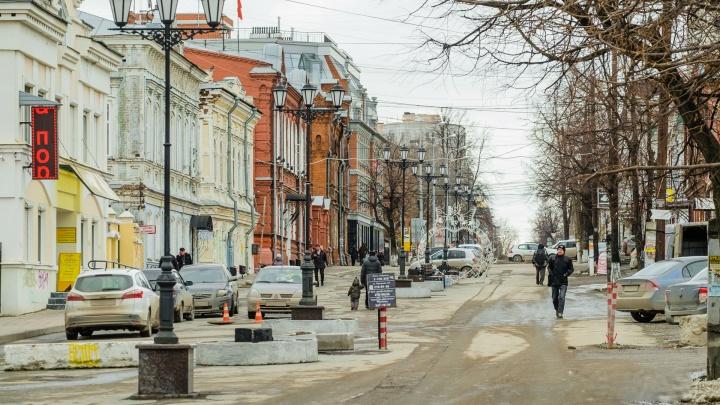 Власти Перми объявили аукцион на ремонт улиц Пермской и 25 Октября