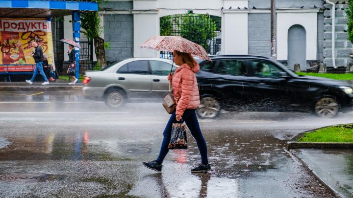 МЧС предупреждает пермяков о сильном дожде и ветре