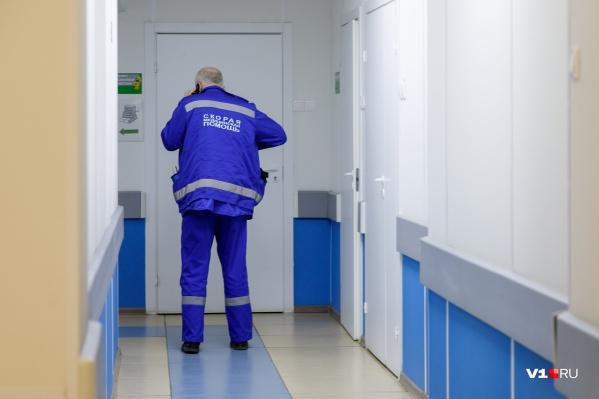 В больницу ребенка доставили на следующий день