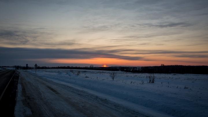 На трассе в Новосибирской области в массовой аварии пострадали женщина и ребёнок