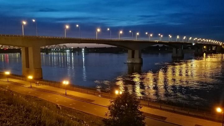 Сказал«Мне пора»: в Ярославле спасатели прочёсывают реку в поисках упавшего с моста человека