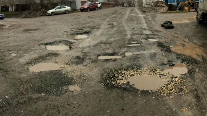 В Самаре отремонтируют улицу Дачную, где горожане высаживали картошку