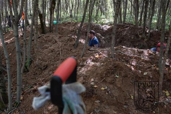 Раскопки велись под Тверью