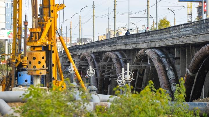 Останется только дорожка для пешеходов: в мэрии рассказали о распиле Макаровского моста