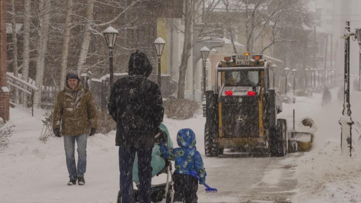 Архангельск против снега: горожане возмущены работой коммунальщиков