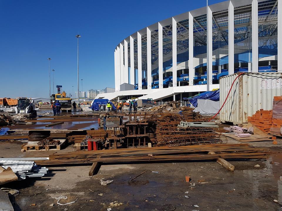 На территории стадиона «Нижний Новгород» есть чем заняться