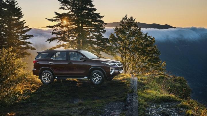 Toyota Fortuner с выгодой до 302 000 рублей: время покорять новые вершины