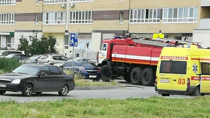 В аварии во дворе дома на Эрвье пострадал двухмесячный ребенок
