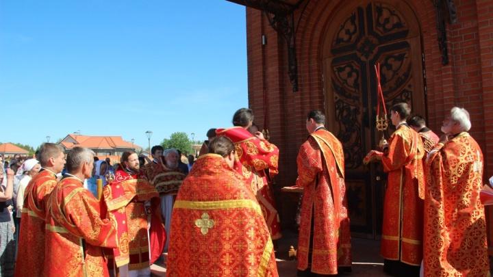 Снова «новый»: освященный храм в Садах Придонья стал совершенно иным
