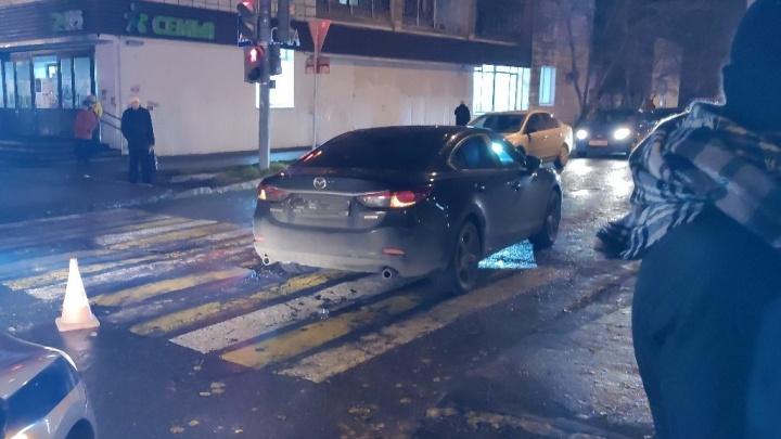 Пермские врачи рассказали о состоянии троих детей, попавших под машину на улице Мира
