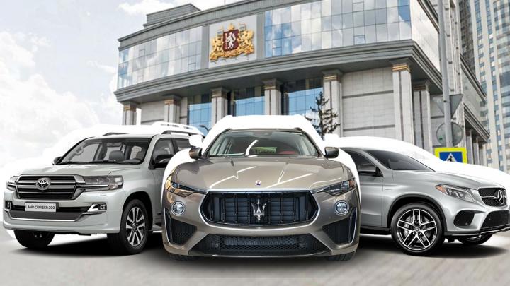 ВИП-гараж: кто из областных депутатов ездит на внедорожниках, а кто на элегантном Maserati
