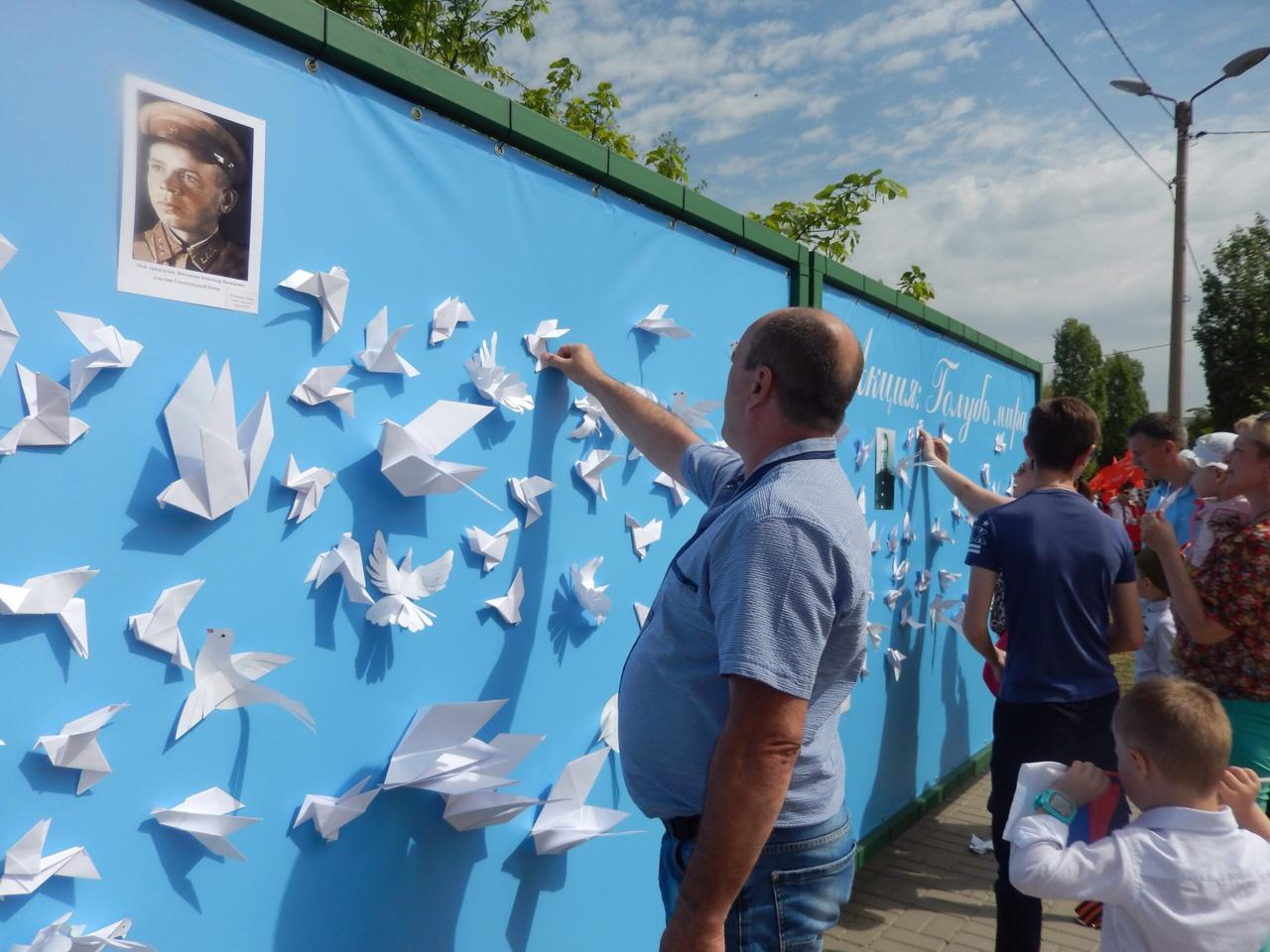 В Волжском собрали целую стайку «Голубей мира»