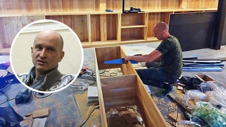 Чиновник с арматурой: сотрудник минкульта уволился из правительства и открыл свою мастерскую