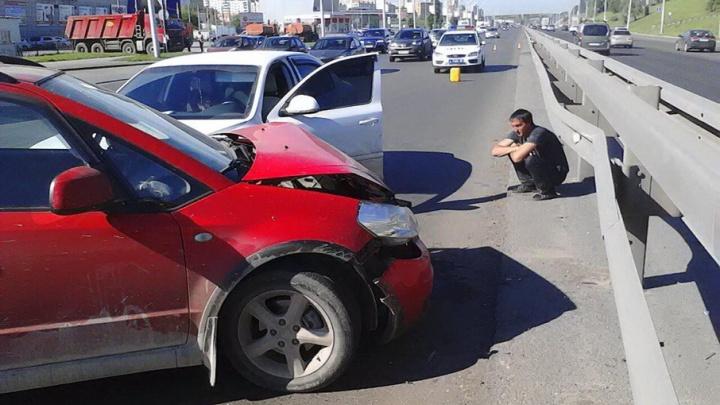 В Уфе пострадавший в ДТП водитель ищет очевидцев
