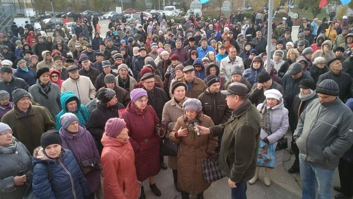 Очередной «немитинг» около «Ракеты»: в Самаре снова протестовали против пенсионной реформы
