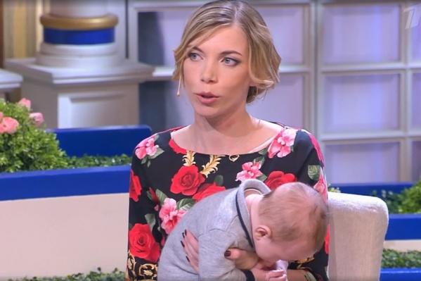 На шоу Лидия пришла с пятым ребенком— он родился уже после ее расставания с мужем