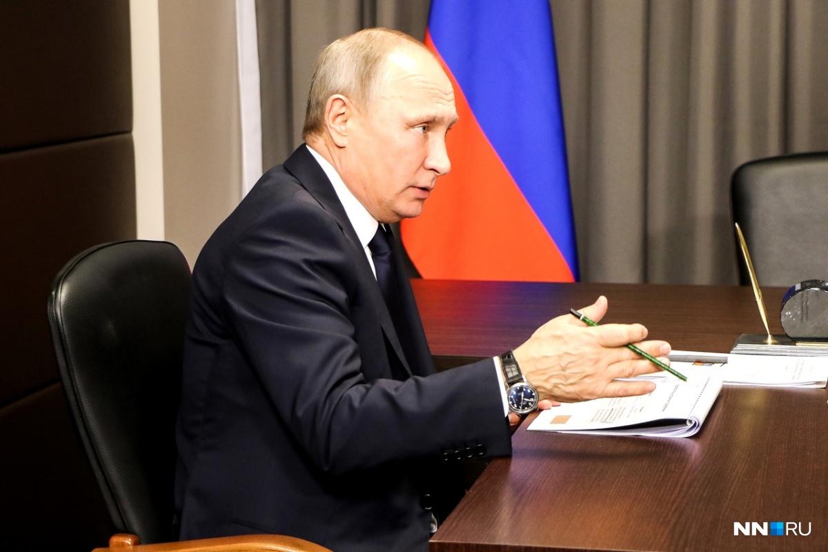 В прошлый раз Владимир Владимирович посещал наш город в 2018 году