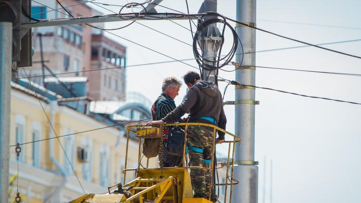 Новая рабочая неделя в Ростове начнется с массовых отключений электричества