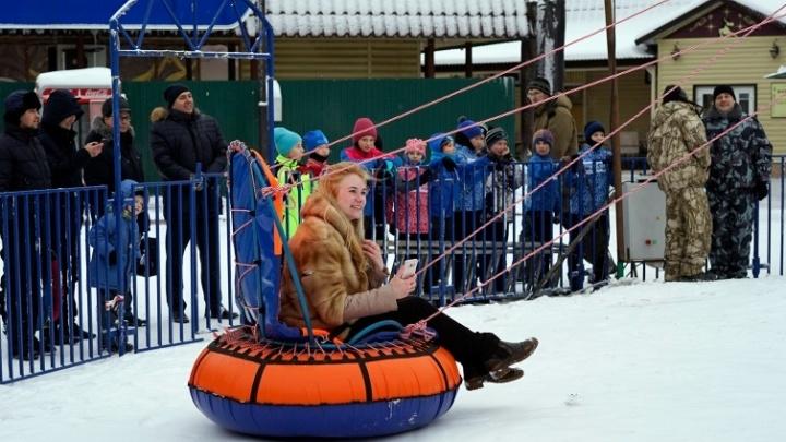 Омичи выбрали название для зимнего городка в парке 30-летия ВЛКСМ