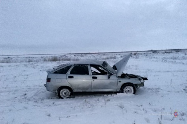 Страшная авария случилась в Старополтавском районе