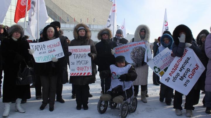 «Омск — не помойка!»: как у СКК Блинова проходит экопротест, охвативший страну